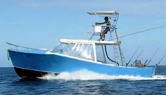 Enjoy Fishing In Liberia, Costa Rica On 33' La Chila Sport Fisherman