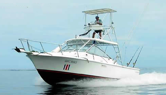 Enjoy Fishing In Liberia, Costa Rica On 31' Sport Fisherman