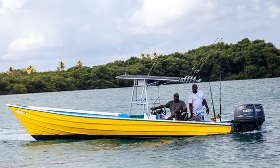Enjoy Fishing In Golden Grove, Trinidad And Tobago With Captain Peter