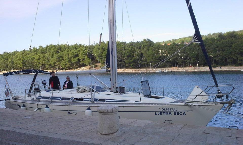 Charter this 43' Elan Cruising Monohull for up to 8 people in Novi Sad, Serbia