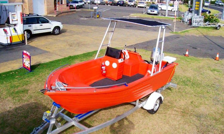 15' Runabout Boat Rental in Queensland, Australia