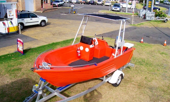 15' Runabout Boat Rental In Queensland, Australia