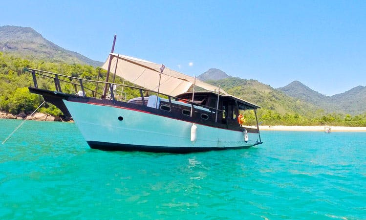 Classical Wooden Boat - Paraty