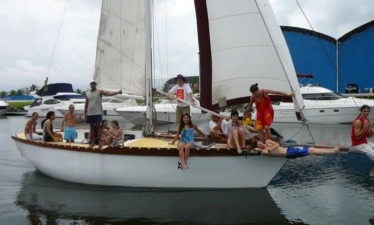 Charter, Sailing Lessons and Fun in Guarapiranga, São Paulo
