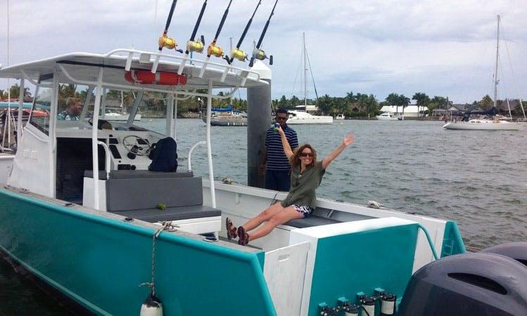 """Enjoy Fishing On 32ft """"Momo Gem 2"""" Center Console In Denarau Island, Fiji"""