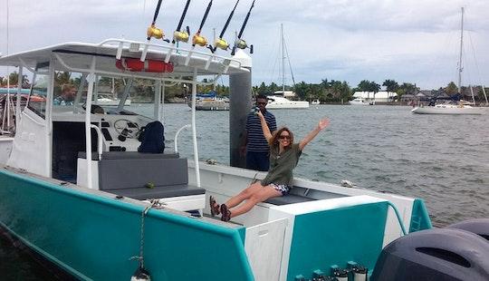 Enjoy Fishing On 32ft