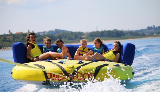 Sofa Rides Ideal For Children In Chalkidiki, Greece