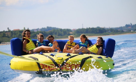 Enjoy Tubing In Chalkidiki, Greece