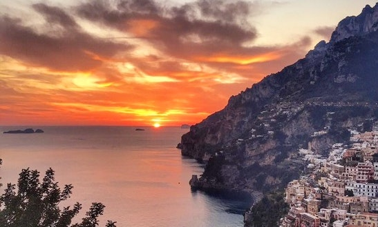 Sunset Cruising In Positano (1.5hrs)