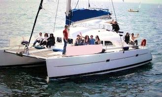 Charter 38' Lagoon-Catamaran in Thessaloniki,Halkidiki, N.Sporades, Greece                      Greece