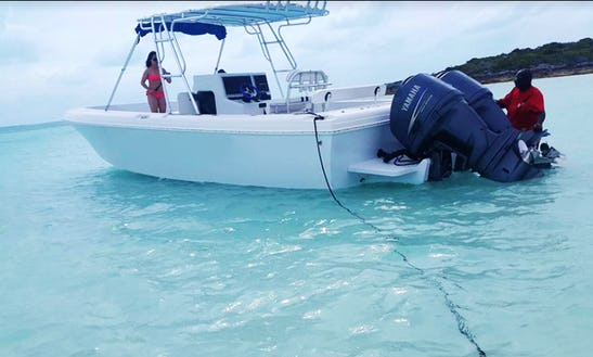 Explore The Coves And Beaches Of Exuma, Bahamas On A Center Console