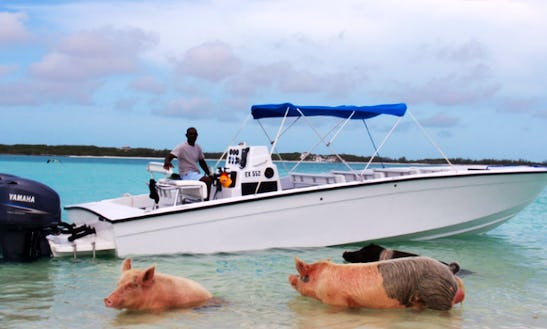 Rent A Center Console In Exuma And Experience The Bahamas Like Never Before!