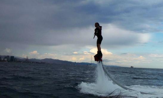 Enjoy Flyboarding In Barcelona, Spain