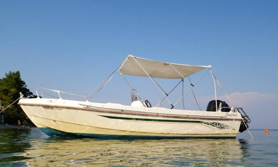 Amazing 6 Person Center Console For Rent In Kerkira, Greece