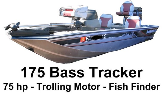 Bass Boat Fishing Charter In Windermere
