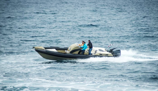 Charter 31' Rigid Inflatable Boat In Alimos, Greece