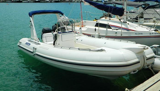 Charter 16' Rigid Inflatable Boat In Alimos, Greece