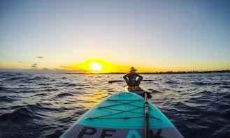 Paddleboard in Playa del Carmen
