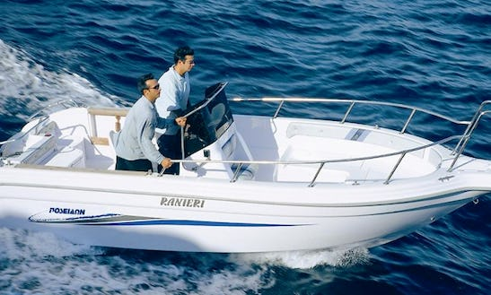 Charter 19' Center Console In Alimos, Greece