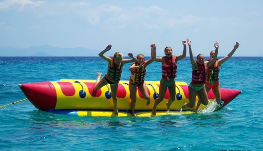 Sofa Rides And Banana Adventure In Sarti, Greece