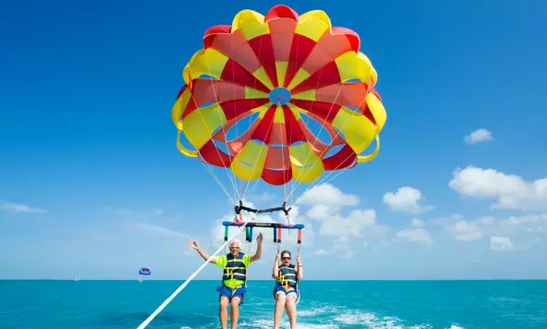 Enjoy Parasailing In Rodos, Greece