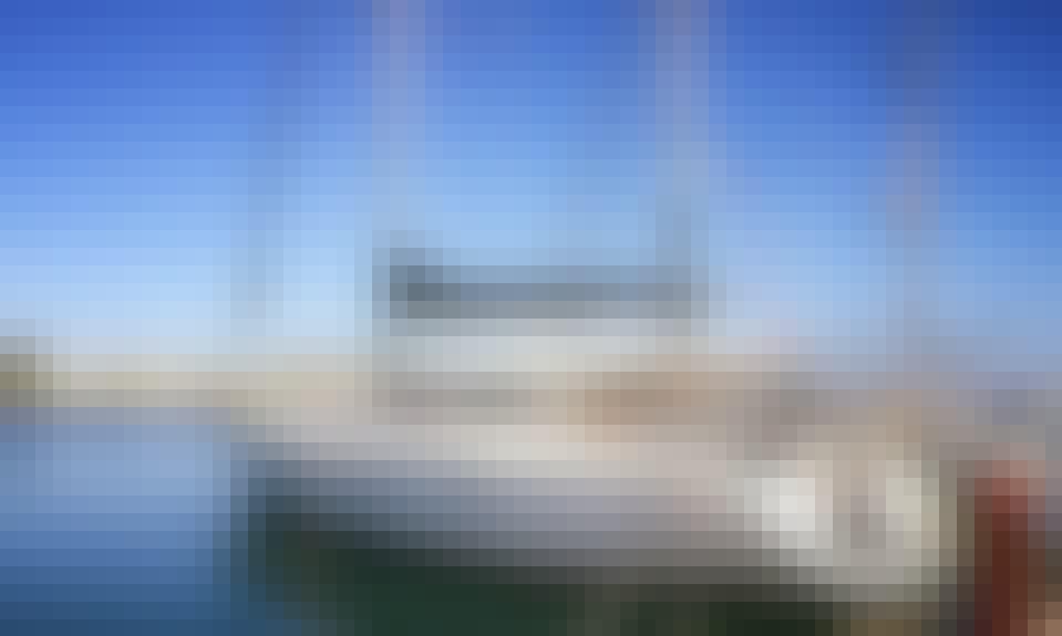 Sailing Experience Akasti Cruising Monohull in Rethymno, Greece 50 feet