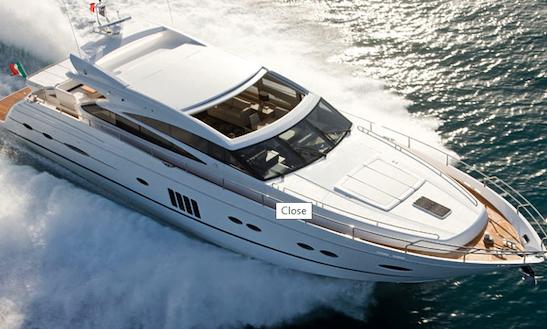 Charter 79' Princess V78 Power Mega Yacht In Poltu Quatu, Italy