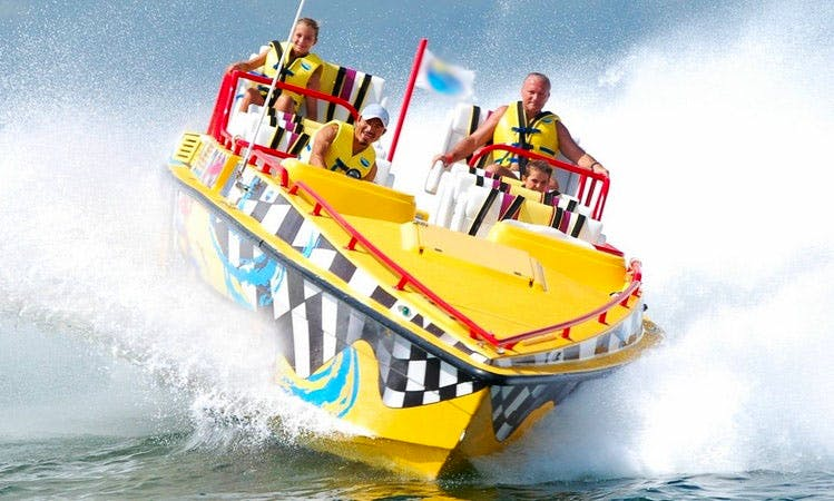 Jet Boat Tours in Cancún, Mexico