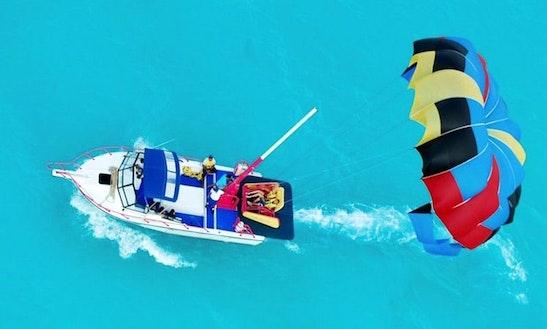 Skyrider Parasailing Trips In Cancún