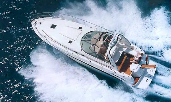 Charter 50ft Sea Ray Sundancer Power Mega Yacht In Poltu Quatu, Italy