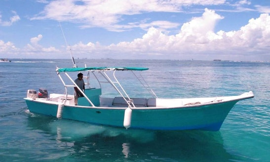 Dinghy Charter In Isla Mujeres, Mexico