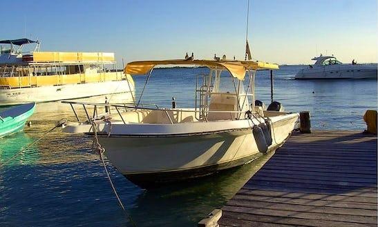 33' Fishing Boat In Isla Mujeres