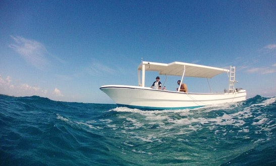Dive Boat In Mexico