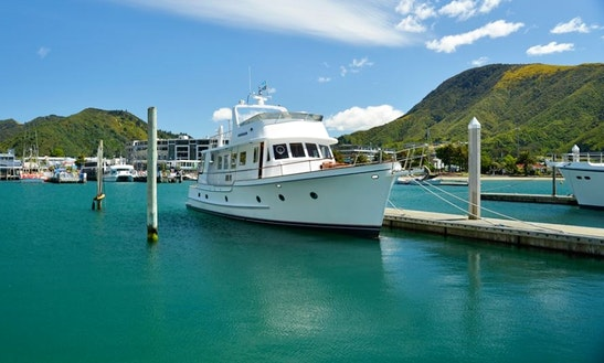 Charter A Motor Yacht In Picton, New Zealand