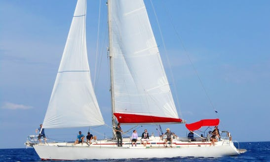 Sailing Charter 50' Cruising Monohull In Rodos, Greece