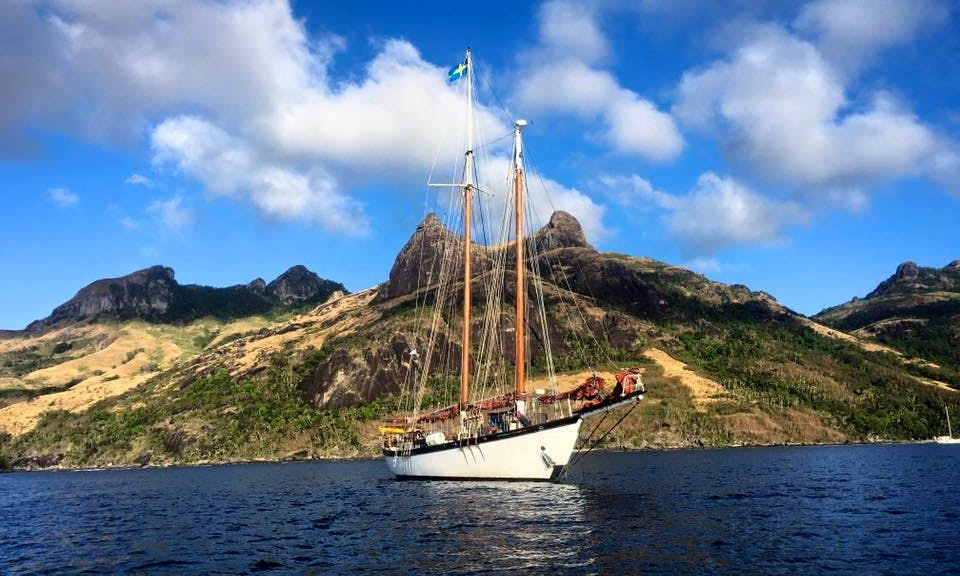 """Experience the Adventure of a Lifetime on """"Sjostrom'"""" Schooner all across the Pacific"""