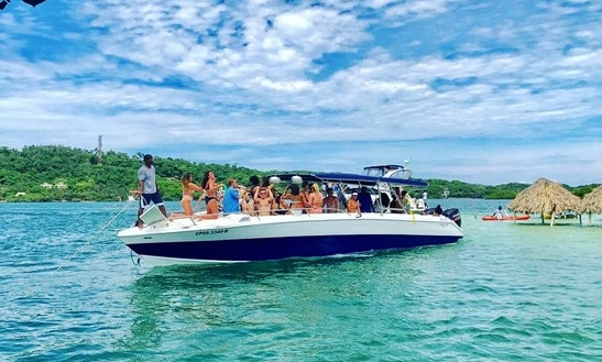 Charter A Bowrider In Cartagena, Colombia