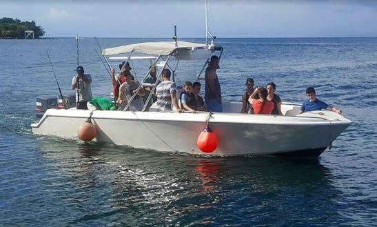 Experience Fishing In Islas De La Bahía, Honduras On Center Console For 6 People