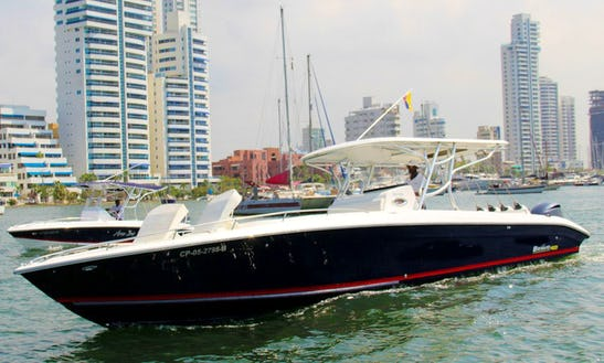 Rent The 2017 Bravo 42ft Center Console For 20 People In Cartagena,bolívar