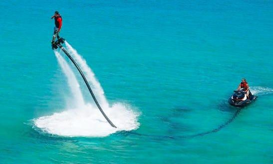 Enjoy Flyboarding In Illes Balears, Spain