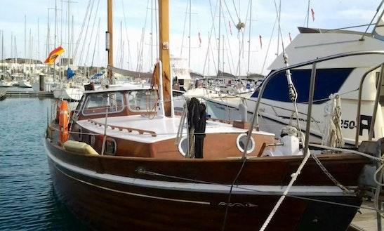 Sailing Charter On 45ft Krayer Cruising Monohull In Puerto Calero, Spain