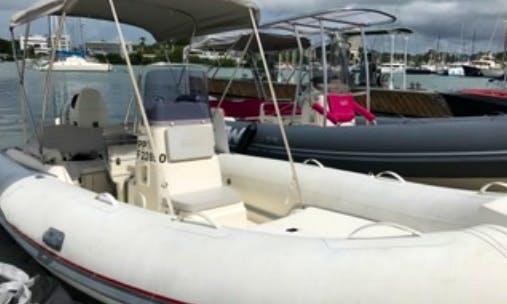 19ft Semi Rigid Boat Rental In Pointe-à-Pitre, Guadeloupe