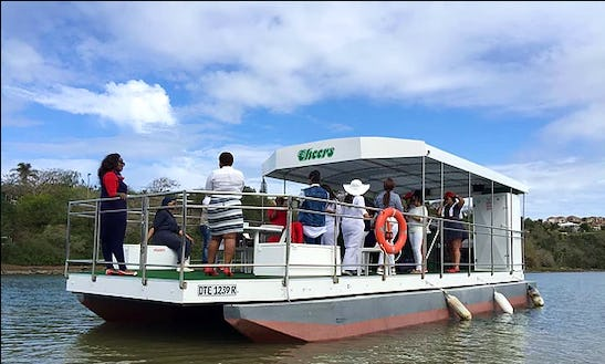 Charter Cheers Pontoon In East London, South Africa