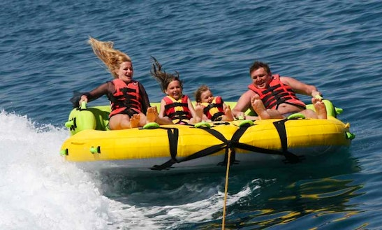 Enjoy Tubing In Adelianos Kampos, Greece
