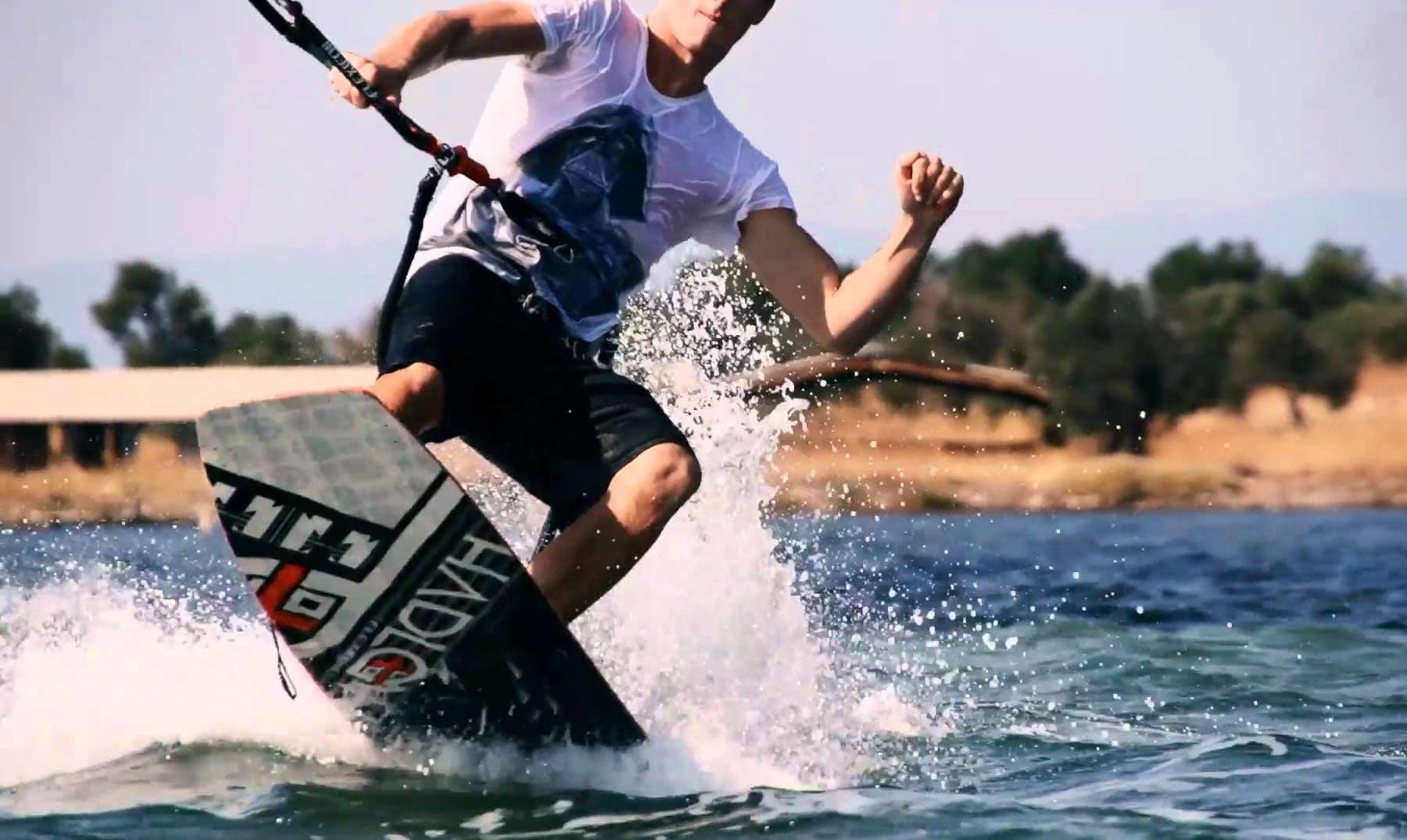 Enjoy Wakeboarding in Kamari, Greece