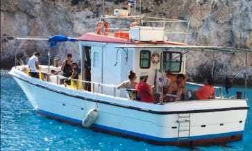 Enjoy Fishing in Pollonia, Greece on Trawler