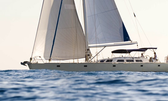 The Best Sailing Experience In Ibiza Aboard 70' Sailboat With Captain Anton