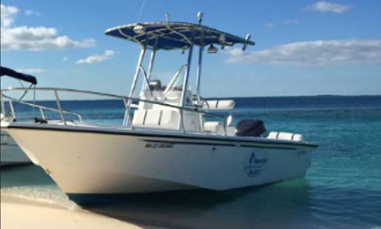 4 Hours Boat Tour On A Center Console In Exuma, Bahamas For Up To 6 People