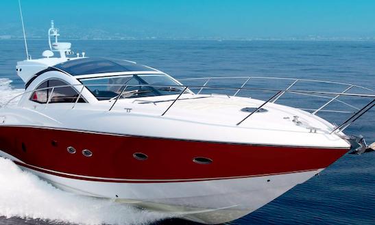 Charter 53' Sunseeker Portofino Power Mega Yacht In Santa Eulària Des Riu, Spain