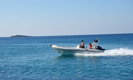 Charter 23' Armenist Rigid Inflatable Boat In Kalivia Thorikou, Greece